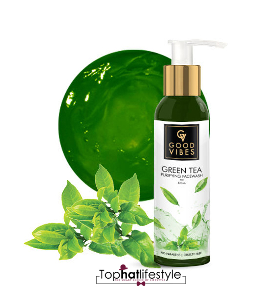 Good Vibes Green Tree Purifying Face wash