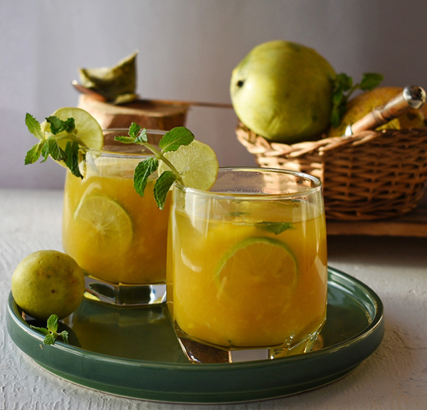Summer Drink- Mango Ice Tea