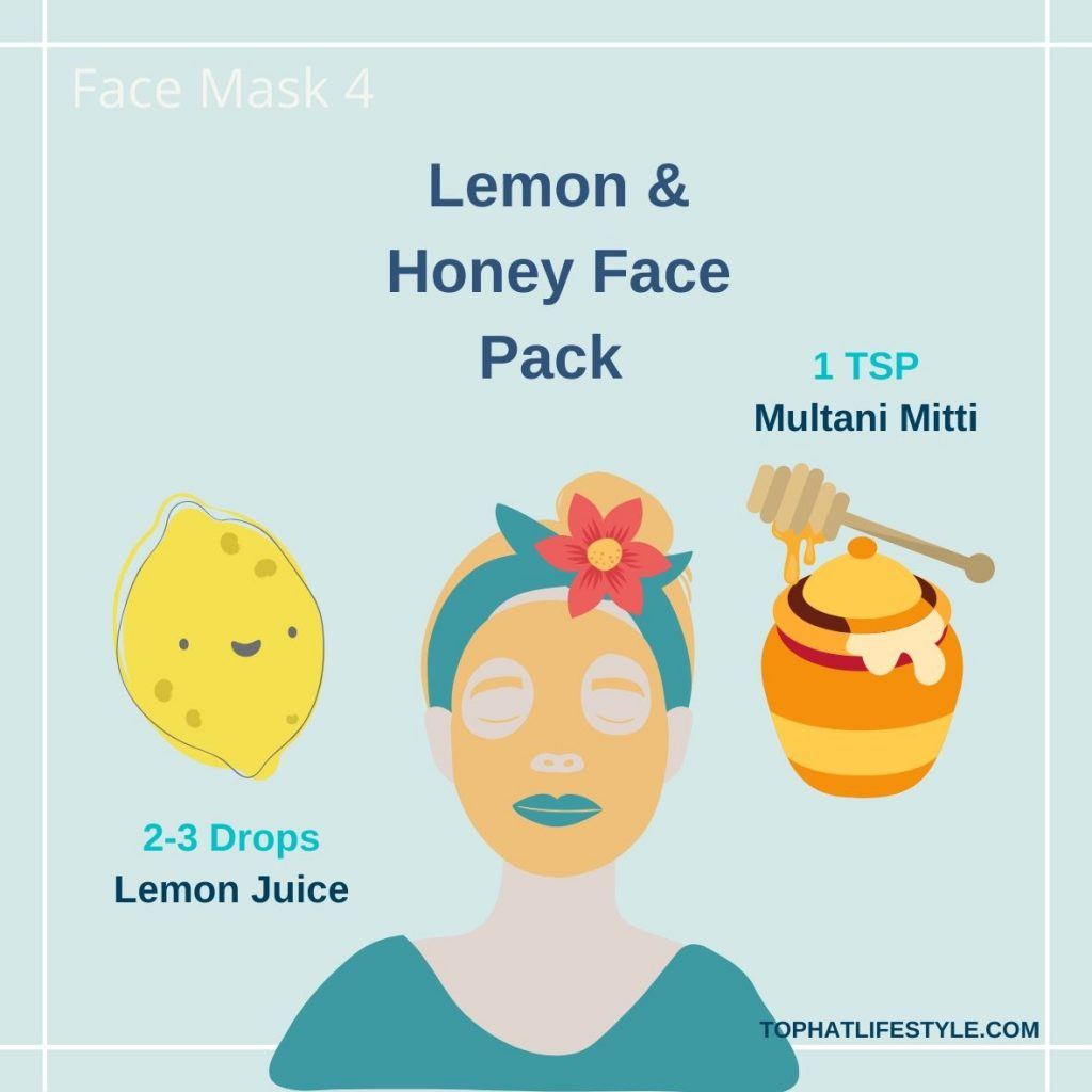 Lemon & Honey Face pack