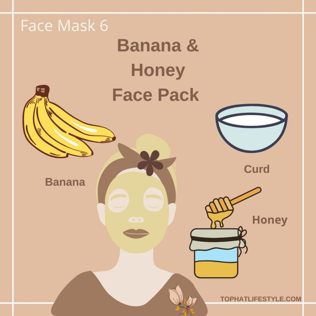 Banana & Honey Face pack